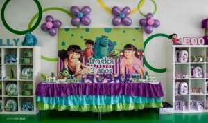 Monsters Inc Party via Kara's Party Ideas | Kara'sPartyIdeas.com #Disney #MonstersInc #PartyIdeas #Supplies (40)