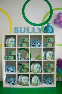 Monsters Inc Party via Kara's Party Ideas | Kara'sPartyIdeas.com #Disney #MonstersInc #PartyIdeas #Supplies (28)