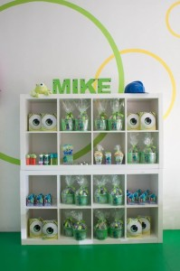 Monsters Inc Party via Kara's Party Ideas | Kara'sPartyIdeas.com #Disney #MonstersInc #PartyIdeas #Supplies (27)