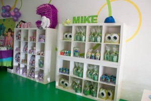 Monsters Inc Party via Kara's Party Ideas | Kara'sPartyIdeas.com #Disney #MonstersInc #PartyIdeas #Supplies (26)