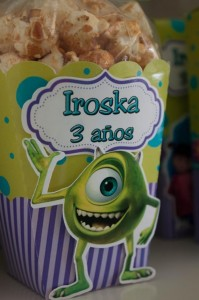 Monsters Inc Party via Kara's Party Ideas | Kara'sPartyIdeas.com #Disney #MonstersInc #PartyIdeas #Supplies (24)