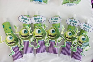 Monsters Inc Party via Kara's Party Ideas | Kara'sPartyIdeas.com #Disney #MonstersInc #PartyIdeas #Supplies (18)