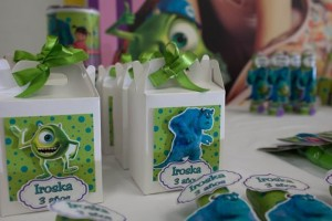 Monsters Inc Party via Kara's Party Ideas | Kara'sPartyIdeas.com #Disney #MonstersInc #PartyIdeas #Supplies (7)