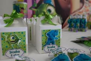 Monsters Inc Party via Kara's Party Ideas | Kara'sPartyIdeas.com #Disney #MonstersInc #PartyIdeas #Supplies (7)