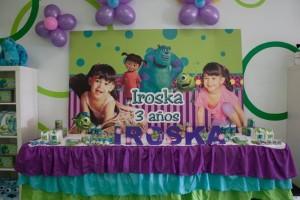 Monsters Inc Party via Kara's Party Ideas | Kara'sPartyIdeas.com #Disney #MonstersInc #PartyIdeas #Supplies (36)
