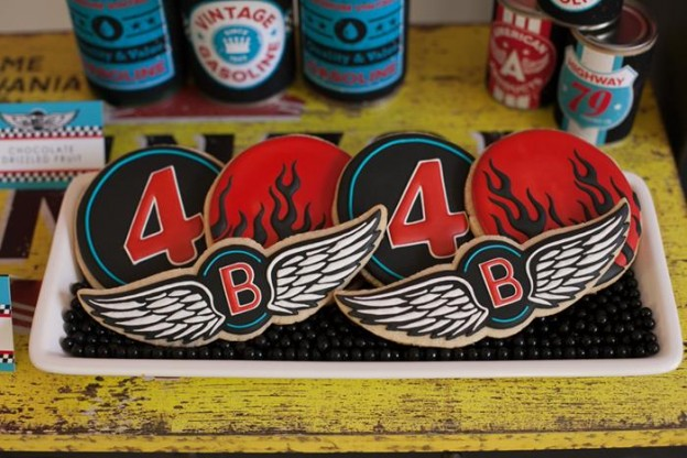 Motorcycle Rally Party with REALLY AWESOME Ideas via Kara's Party Ideas | Kara'sPartyIdeas.com #Harley #Motorcycle #Party #Ideas #Supplies (20)