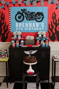 Motorcycle Rally Party with REALLY AWESOME Ideas via Kara's Party Ideas | Kara'sPartyIdeas.com #Harley #Motorcycle #Party #Ideas #Supplies (17)