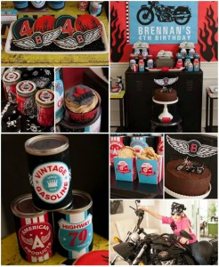 Motorcycle Rally Party with REALLY AWESOME Ideas via Kara's Party Ideas | Kara'sPartyIdeas.com #Harley #Motorcycle #Party #Ideas #Supplies (1)