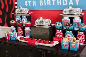Motorcycle Rally Party with REALLY AWESOME Ideas via Kara's Party Ideas | Kara'sPartyIdeas.com #Harley #Motorcycle #Party #Ideas #Supplies (5)
