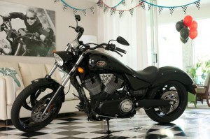 Motorcycle Rally Party with REALLY AWESOME Ideas via Kara's Party Ideas | Kara'sPartyIdeas.com #Harley #Motorcycle #Party #Ideas #Supplies (2)