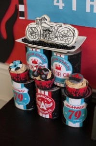 Motorcycle Rally Party with REALLY AWESOME Ideas via Kara's Party Ideas | Kara'sPartyIdeas.com #Harley #Motorcycle #Party #Ideas #Supplies (24)