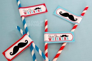 Little Man Mustache Baby Shower via Kara's Party Ideas | Kara'sPartyIdeas.com #Mustache #1stBirthday #PartyIdeas #Supplies (9)