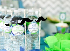 Little Man Mustache Bash via Kara's Party Ideas | Kara'sPartyIdeas.com #Mustache #Party #Ideas #Supplies #MustacheCake (10)