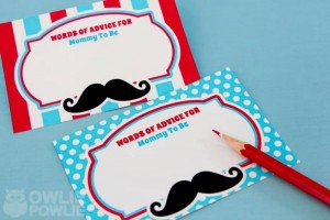 Little Man Mustache Baby Shower via Kara's Party Ideas | Kara'sPartyIdeas.com #Mustache #1stBirthday #PartyIdeas #Supplies (8)