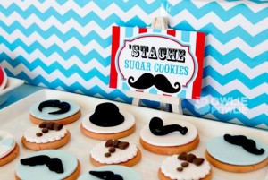 Little Man Mustache Baby Shower via Kara's Party Ideas | Kara'sPartyIdeas.com #Mustache #1stBirthday #PartyIdeas #Supplies (6)