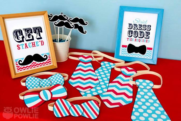 Beautiful Little Man Mustache Baby Shower Via Karau0027s Party Ideas |  Karau0027sPartyIdeas.com #