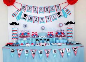Little Man Mustache Baby Shower via Kara's Party Ideas | Kara'sPartyIdeas.com #Mustache #1stBirthday #PartyIdeas #Supplies (16)
