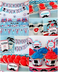Little Man Mustache Baby Shower with SO MANY CUTE IDEAS via Kara's Party Ideas | Kara'sPartyIdeas.com #Mustache #1stBirthday #PartyIdeas #Supplies (1)