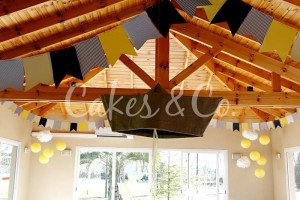 Yellow and Blue Nautical 1st Birthday Party via Kara's Party Ideas | Kara'sPartyIdeas.com #Sailboat #Sailor #PartyIdeas #Supplies (11)