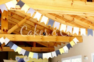 Yellow and Blue Nautical 1st Birthday Party via Kara's Party Ideas | Kara'sPartyIdeas.com #Sailboat #Sailor #PartyIdeas #Supplies (5)
