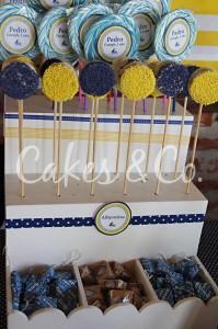 Yellow and Blue Nautical 1st Birthday Party via Kara's Party Ideas | Kara'sPartyIdeas.com #Sailboat #Sailor #PartyIdeas #Supplies (31)