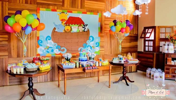 Kara S Party Ideas Noah S Ark Themed 4th Birthday Party Kara S