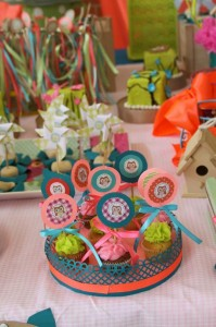 Girly Owl Party via Kara's Party Ideas | Kara'sPartyIdeas.com #Girl #Owl #Woodland #PartyIdeas #Supplies (16)