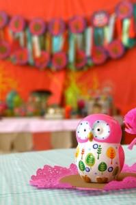 Girly Owl Party via Kara's Party Ideas | Kara'sPartyIdeas.com #Girl #Owl #Woodland #PartyIdeas #Supplies (8)