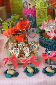 Girly Owl Party via Kara's Party Ideas | Kara'sPartyIdeas.com #Girl #Owl #Woodland #PartyIdeas #Supplies (7)