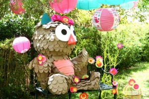 Girly Owl Party via Kara's Party Ideas | Kara'sPartyIdeas.com #Girl #Owl #Woodland #PartyIdeas #Supplies (4)