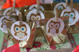 Girly Owl Party via Kara's Party Ideas | Kara'sPartyIdeas.com #Girl #Owl #Woodland #PartyIdeas #Supplies (22)
