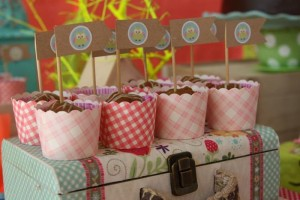 Girly Owl Party via Kara's Party Ideas | Kara'sPartyIdeas.com #Girl #Owl #Woodland #PartyIdeas #Supplies (20)