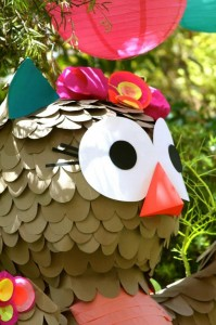 Girly Owl Party via Kara's Party Ideas | Kara'sPartyIdeas.com #Girl #Owl #Woodland #PartyIdeas #Supplies (18)