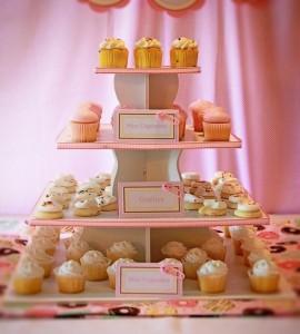 Pink Baby Sprinkle via Kara's Party Ideas Kara'sPartyIdeas.com #BabyShower #Girly #PartyIdeas #Supplies (4)