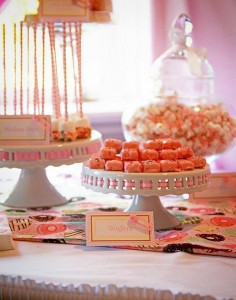 Pink Baby Sprinkle via Kara's Party Ideas Kara'sPartyIdeas.com #BabyShower #Girly #PartyIdeas #Supplies (2)