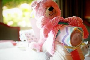 Pink Baby Sprinkle via Kara's Party Ideas Kara'sPartyIdeas.com #BabyShower #Girly #PartyIdeas #Supplies (15)