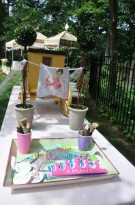 Castle Pony Party via Kara's Party Ideas Kara'sPartyIdeas.com #Castles #Ponies #PartyIdeas #Supplies #Carriages (16)