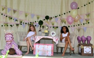 Castle Pony Party via Kara's Party Ideas Kara'sPartyIdeas.com #Castles #Ponies #PartyIdeas #Supplies #Carriages (6)