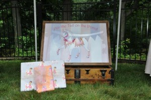 Castle Pony Party via Kara's Party Ideas Kara'sPartyIdeas.com #Castles #Ponies #PartyIdeas #Supplies #Carriages (4)