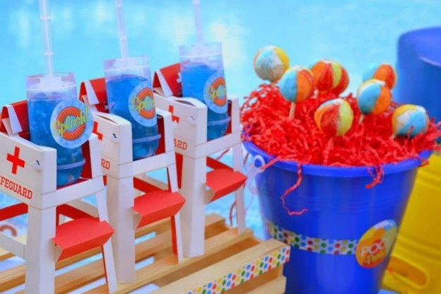 Pool Party Favors Ideas tween party favor ideas summer pool party cheetah tween pool party swish printables Pool Party Favor Ideas Pool Party Dessert Ideas Teddy Grahams In Pudding Fun Food Party Printables