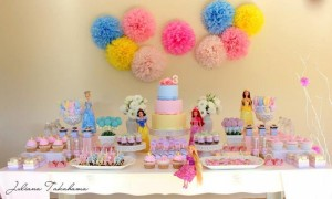 Disney Princess Party via Kara's Party Ideas | Kara'sPartyIdeas.com #DisneyPrincess #PartyIdeas #Supplies #SnowWhite #Cinderella (15)