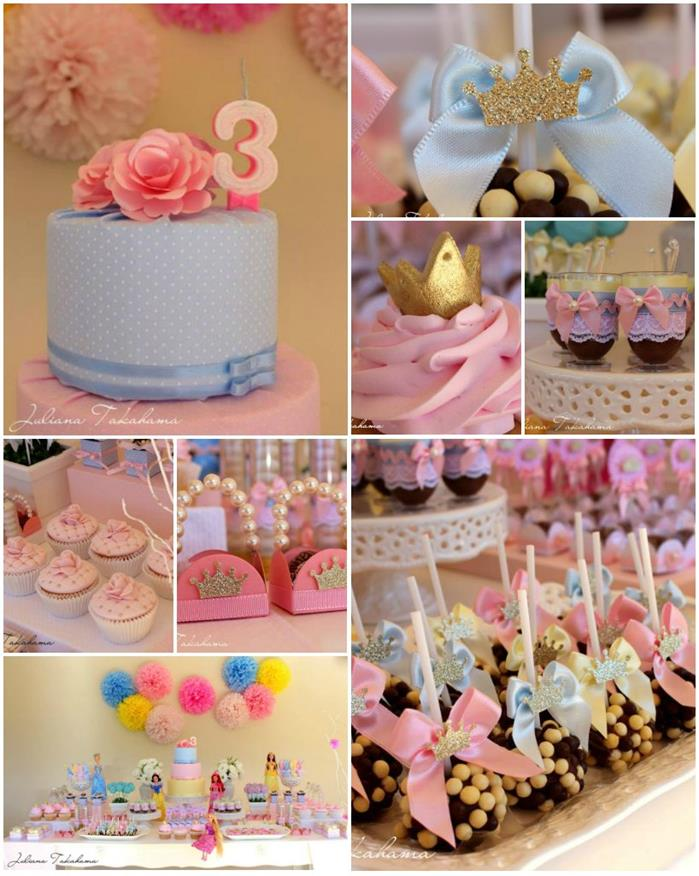 Kara S Party Ideas Disney Princess Party Full Of Cute