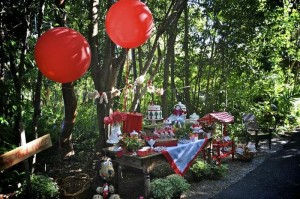 Little Red Riding Hood Birthday Party via Kara's Party Ideas | Kara'sPartyIdeas #LittleRedRidingCap #RedRidingHood #BigBadWolf #PartyIdeas #Supplies (14)