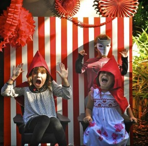 Little Red Riding Hood Birthday Party via Kara's Party Ideas | Kara'sPartyIdeas #LittleRedRidingCap #RedRidingHood #BigBadWolf #PartyIdeas #Supplies (10)
