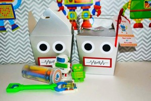 Robot Party via Kara's Party Ideas | Kara'sPartyIdeas.com #Robot #Science #Ideas #Supplies #Cake (38)