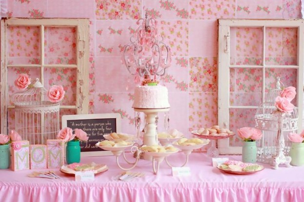 A Mother's Soiree via Kara's Party Ideas | Kara'sPartyIdeas.com #Mother'sDay #Party #Ideas #Decorations #Supplies #Vintage (2)