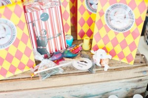 Vintage Circus Strongman Birthday Party via Kara's Party Ideas | Kara'sPartyIdeas.com #BigTop #Carnival #2ndBirthday #PartyIdeas #Supplies (9)