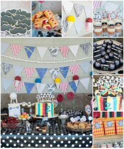 Vintage Circus Strongman Birthday Party with AWESOME Ideas via Kara's Party Ideas | Kara'sPartyIdeas.com #BigTop #Carnival #2ndBirthday #PartyIdeas #Supplies (1)