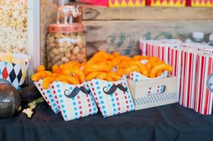 Vintage Circus Strongman Birthday Party via Kara's Party Ideas | Kara'sPartyIdeas.com #BigTop #Carnival #2ndBirthday #PartyIdeas #Supplies (3)