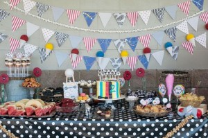Vintage Circus Strongman Birthday Party via Kara's Party Ideas | Kara'sPartyIdeas.com #BigTop #Carnival #2ndBirthday #PartyIdeas #Supplies (2)